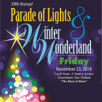 San Rafael Parade of Lights & Winter Wonderland
