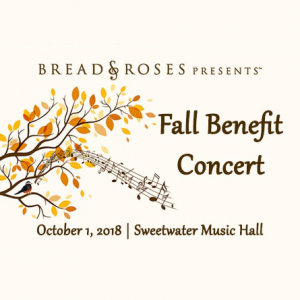 Bread & Roses Presents - Fall Benefit Concert