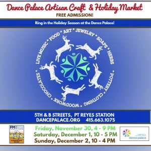 Dance Palace Artisan Craft & Holiday Market