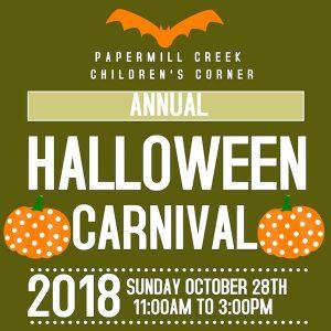 Papermill Creek Halloween Carnival