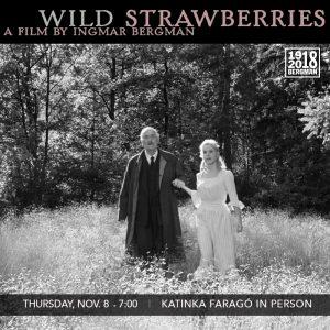 Wild Strawberries with Katinka Farago