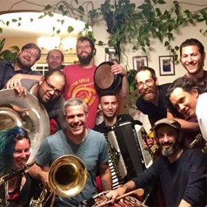 Inspector Gadje: A Giant Holiday Balkan Big Brass Band Extravaganza
