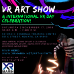 VR Art Show & International VR Celebration Day