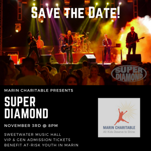 Marin Charitable Benefit Concert ft. Super Diamond