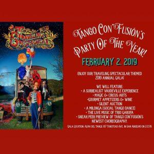 """Tango Con*Fusión's """"Traveling Spectacular"""" Fundraising Gala"""