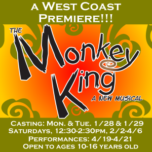 Monkey King a West Coast Premiere