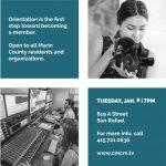 Free Orientation: Make videos to air on Marin TV