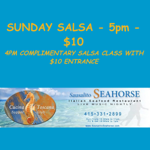 **POSTPONED** Sunday Salsa