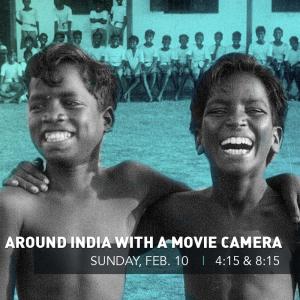 Around India with a Movie Camera