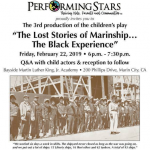 The Lost Stories of Marinship...The Black Experience