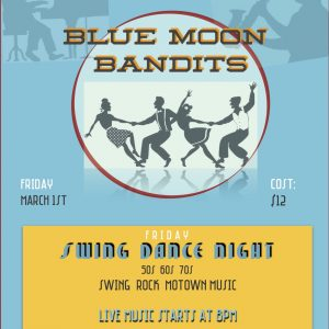 Blue Moon Bandits - Swing Dance Night