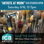 """Artists at Work"" - ICB Studios Open"