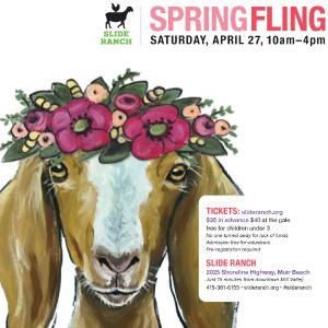 Spring Fling at Slide Ranch - April 27