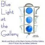 Blue Light at the Gallery