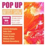 Pop-Up Artist Show