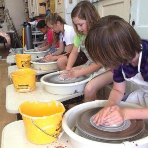Clay, Ceramics + Pottery Camp / 5-14