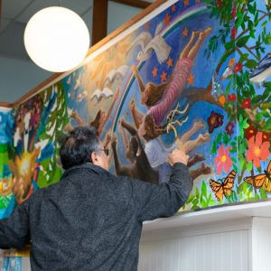 Community Mural Reception