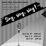 Sing, sing, sing!