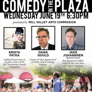 Comedy in the Plaza