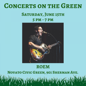 Concert on the Green: ROEM