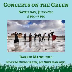 Concert on the Green: Barrio Manouche
