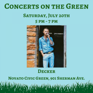 Concert on the Green: Decker