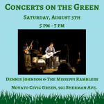 Concert on the Green: Dennis Johnson and the Mississippi Ramblers