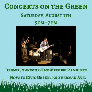 Concert on the Green: Dennis Johnson and the Missi...