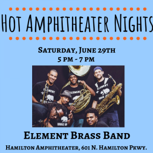 Hot Amphitheater Nights: Element Brass Band