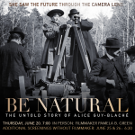 Be Natural - with filmmaker Pamela B. Green