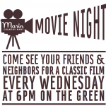 Movie Night at the Mart!