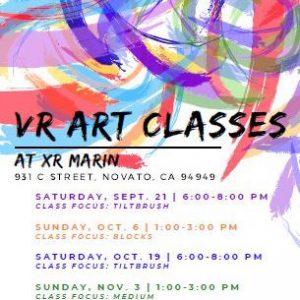 VR Art Class: Google Tilt Brush