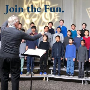 Sing with SFBC in San Rafael - Auditions Sep. 7