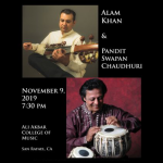 Alam Khan and Pandit Swapan Chaudhuri in Concert