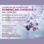 Dominican Chorale Fall Concert
