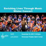 Enriching Lives through Music: Winter Concert