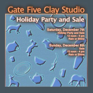 Gate 5 Clay – Annual Sale & Party