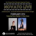 Novato Live – Devon Baldwin, Olivia Grace