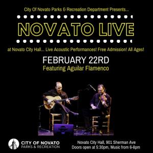 Novato Live – Aguilar Flamenco