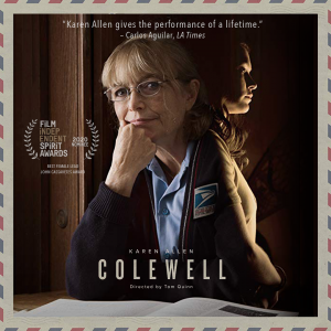 Colewell with filmmaker Tom Quinn