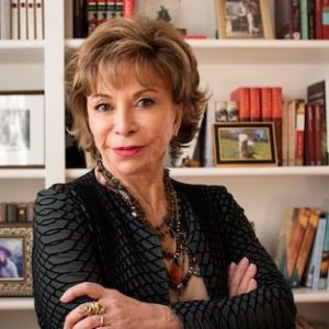 Isabel Allende with Michael Krasny
