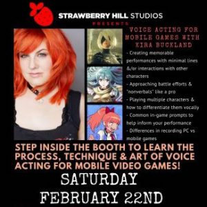 Voice Acting for Mobile Games w/ Kira Buckland