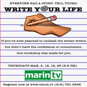 **POSTPONED** Write Your Life