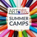 Make Your Own Art Studio + Art!
