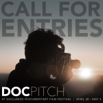 DocPitch Call For Entries