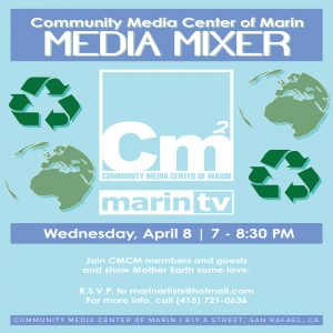 Free Media Mixer at Marin TV
