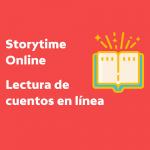 LOCAL>> Storytime Online – Lectura de cuentos en línea