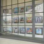 LOCAL>> Self-Reflective Portraits by 8th Grade Grads