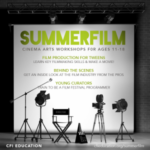 LOCAL>> CFI Education Summerfilm - Online!