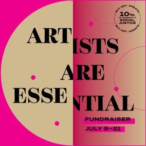 LOCAL>> Artists Are Essential – Headlands Center Fundraiser